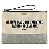 Fairytale Canvas Glitter Clutch by Kate Spade New York