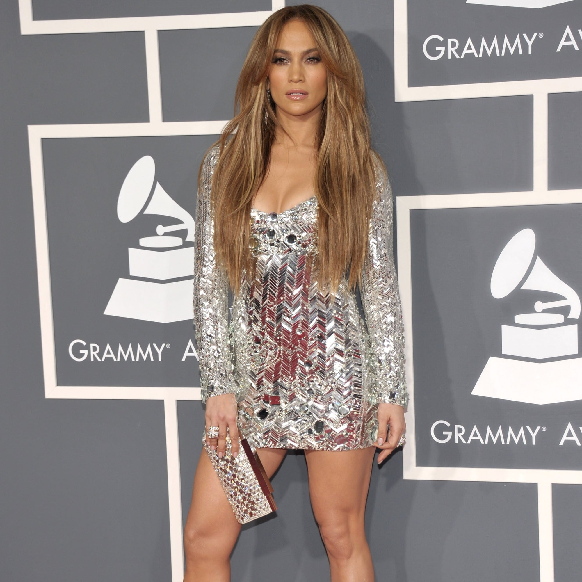 jennifer lopez sexy dress pictures showing off her legs | popsugar