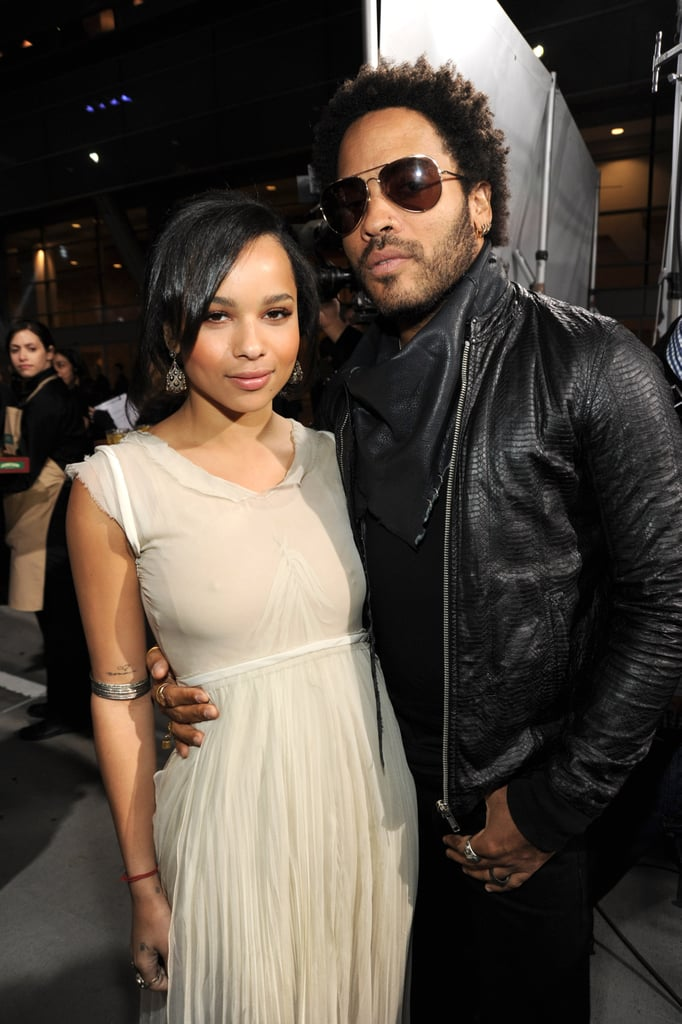 Lenny and Zoë attended the Spirit Awards together in March 2010.