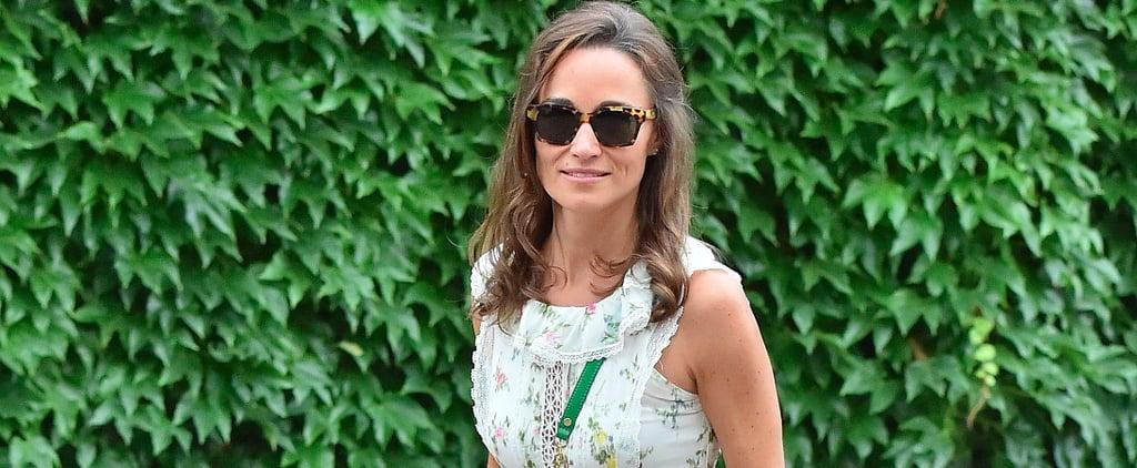 Pippa Middleton Max Mara Dress at Wimbledon 2017