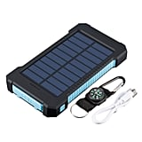 Waterproof Dual USB Portable Solar Charger