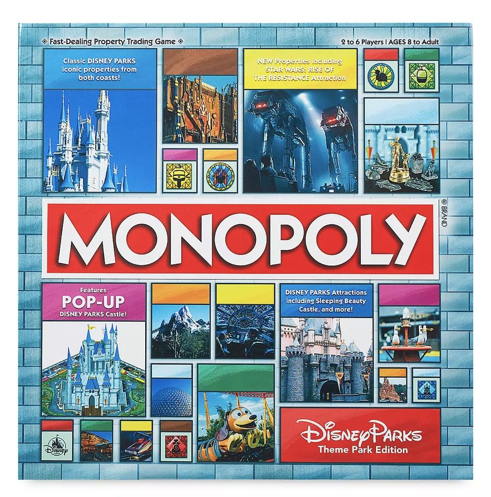 Disney Parks Theme Park Edition Monopoly Game