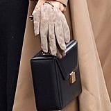 Meghan Markle Black Victoria Beckham Handbag January 2019