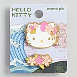 Hello Kitty Pink Flower Enamel Pin Set
