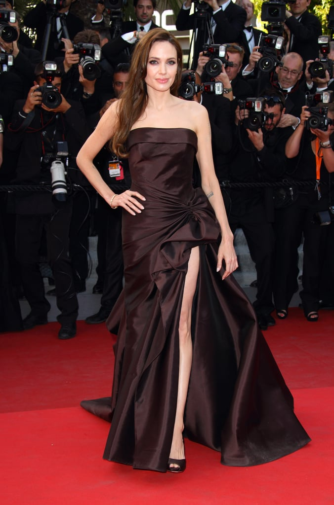Wearing Atelier Versace at the Cannes Film Festival in 2011.