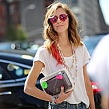 Chiara Ferragni flaunts a covetable Chanel supermarket accessory that's quirky enough to wear with your entire wardrobe.