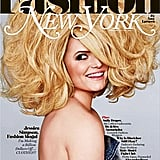 Jessica Simpson sported big hair and a big smile on the cover of New York Magazine in February 2011.