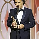 When Alejandro González Iñárritu Won Best Director at the Golden Globes . . .