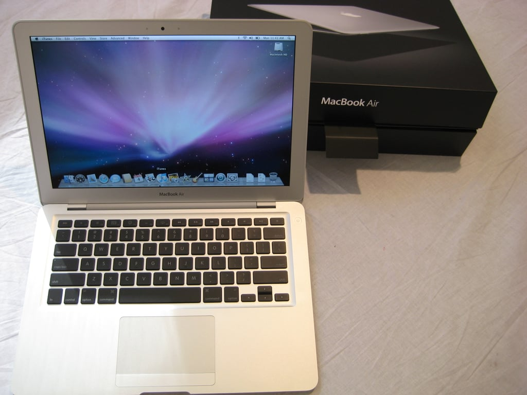 Three Girls, One MacBook Air