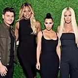 Kim Kardashian Blue Eyeshadow March 2018