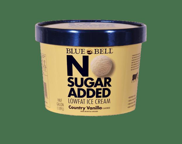 Blue Bell No Sugar Added Country Vanilla