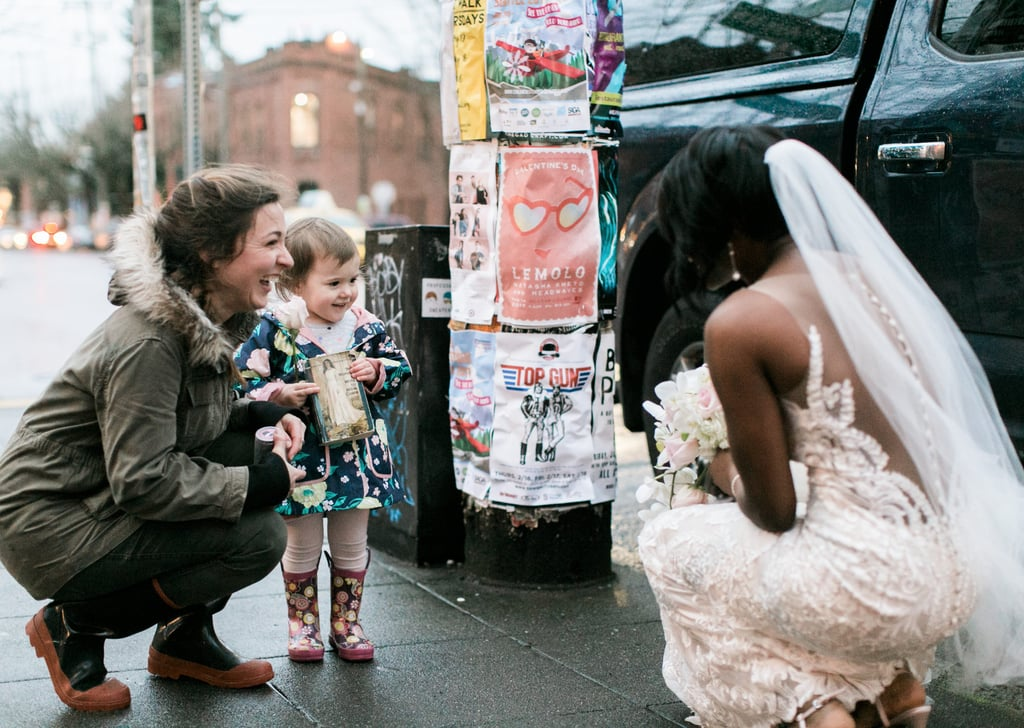 Little Girl Thought This Bride Was a Real-Life Princess and We Can't Stop Swooning