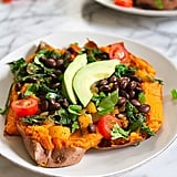 Mexi-Stuffed Sweet Potato
