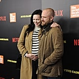Laura Prepon and Ben Foster at Five Came Back Premiere 2017