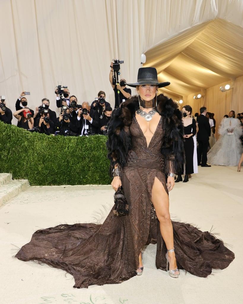 Jennifer Lopez at the 2021 Met Gala