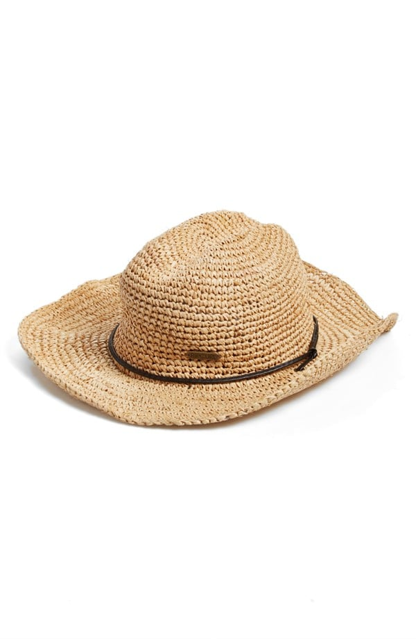 Don't forget to pack a straw hat ($39) when you head to Stagecoach.