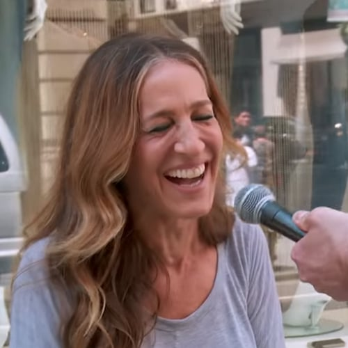 Sarah Jessica Parker Billy on the Street Video 2015