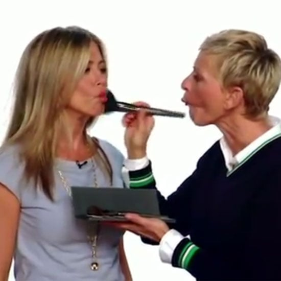 Ellen DeGeneres Gives Jennifer Aniston a Makeover