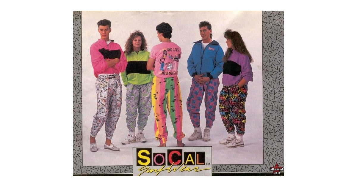 Fashion Trends From The 80s And 90s Popsugar Fashion