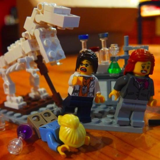 Lego Female Scientist Twitter Account