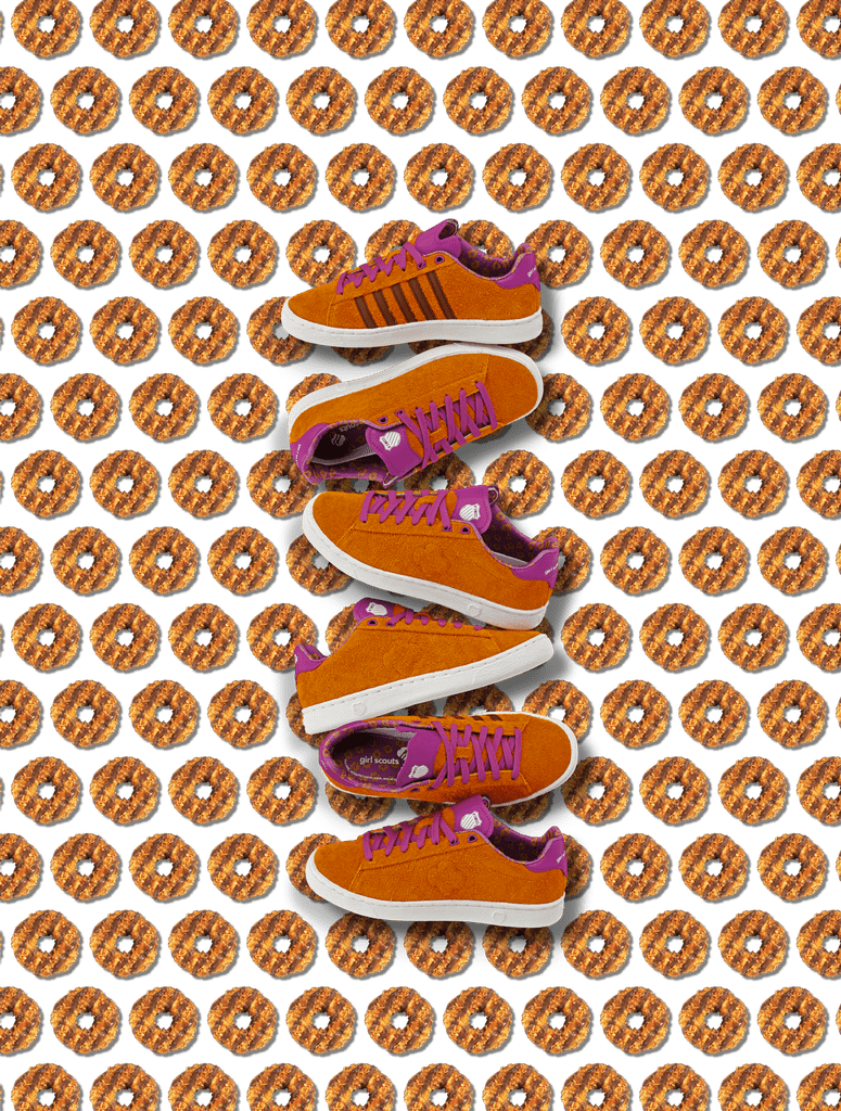 K-Swiss Girl Scout Cookie Sneakers