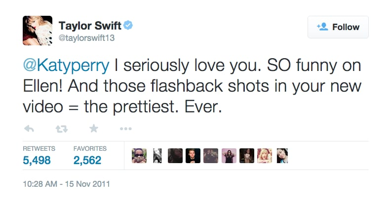 Nov. 15, 2011: More Love From Taylor