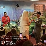 The Adorable Couple's Ceremony Was Officiated by an Elvis Presley Impersonator