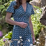 Kate Middleton in Sandro Dress July 2019