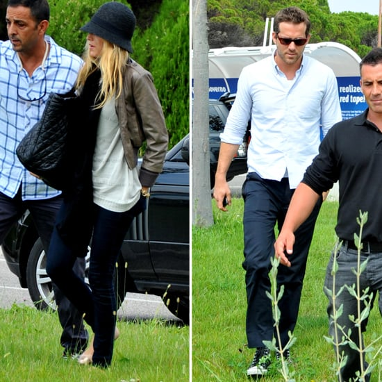 Blake Lively and Ryan Reynolds Arrive at Venice Together