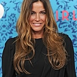 Kelly Bensimon smiled at HBO's Girls premiere in NYC.