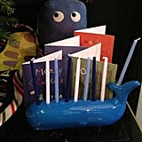 A whale of a menorah!