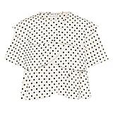 Rejina Pyo Jude Flounced Polka-Dot Top ($545).