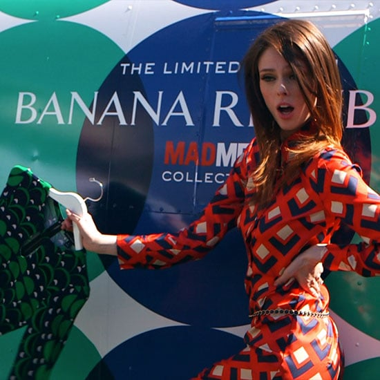 Coco Rocha For Banana Republic Mad Men Collection (Video)