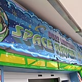 Beat Buzz Lightyear's Space Ranger spin game.