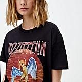 Pull&Bear Led Zeppelin US Tour 1975 T-Shirt