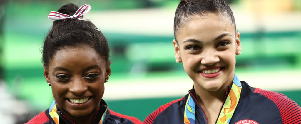 Laurie Hernandez, Best Friend Ever, Totally Saved Simone Biles From a Major Fashion Faux Pas