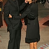 Jessica danced with Cash outside the March 2006 Vanity Fair Oscars party in LA.