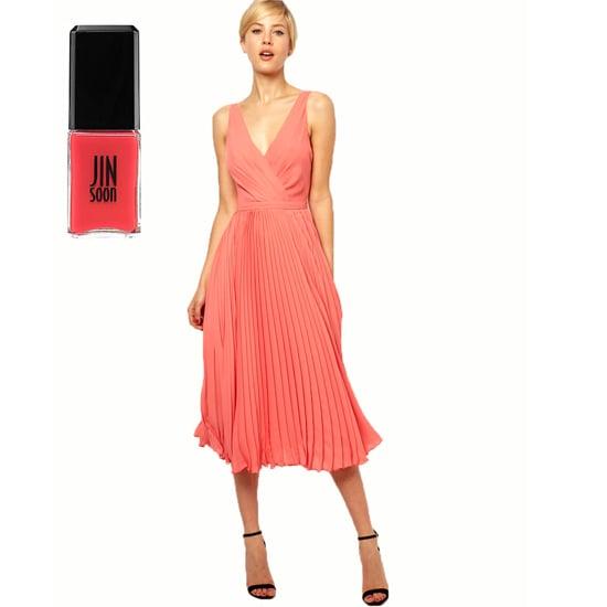 A fun, flirty dress like Jin Soon Coral Peony ($18).
