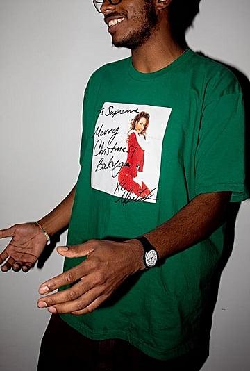 Where to Shop Supreme's Mariah Carey's Christmas T-Shirt