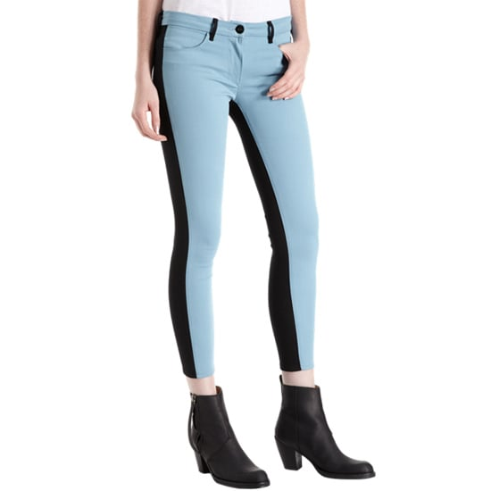 Colorblocking is still going strong, so get your legs in on the action via these 3x1 dusty-blue and black jeans ($89, originally $225). We can't get enough of the light and dark mix.