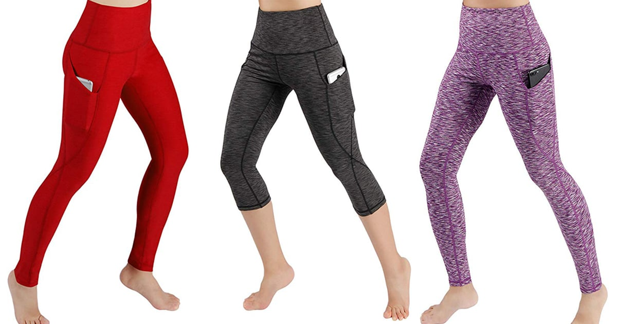 These $20 Yoga Pants From Amazon Have Pockets, So, Yeah, They're My New Favorite Pair