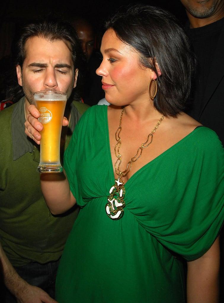 Rachel Ray og hendes husbond John Cusimano 2008 South Beach vin og mad festival-1287