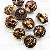 Vegan Caramelized Banana Chocolate Almond Butter Cups