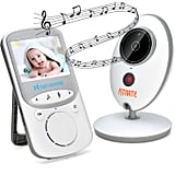 Wireless Video Baby Monitor Digital Camera With Night Vision and Temperature Monitor