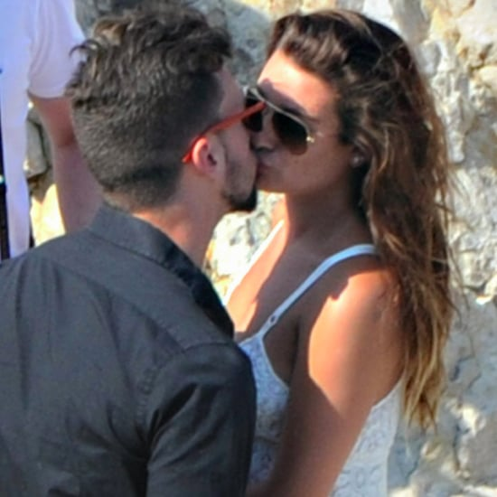 Lea Michele Kisses Matthew Paetz in Italy | Pictures