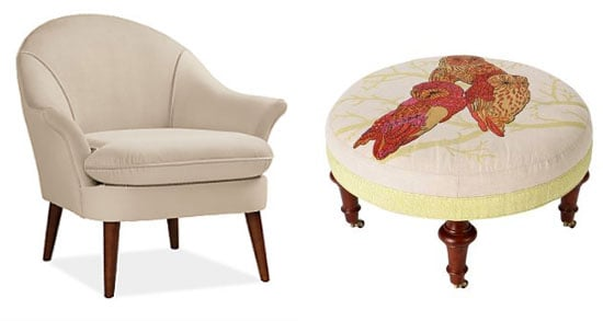 5 Unexpected Armchair and Ottoman Pairs