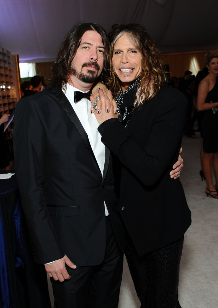 Dave Grohl and Steven Tyler