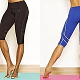Green Apple Fitted Crop Legging
