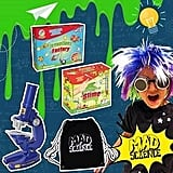 Mad Science Showbag ($25) Includes:  Microscope set  Science of slime kit  Science of inventions kit