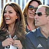 Will and Kate enjoyed themselves.